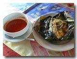 タマレス・コラドス 中米のトウモロコシの主食 皿