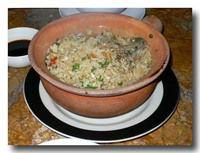 牡蛎の炊き込みご飯