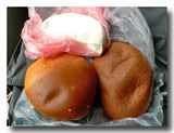 オリャンタイタンボのパンとチーズ