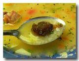 チューニョ入り野菜スープ