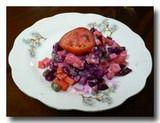 赤カブのサラダ