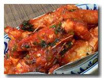 茄汁蒜茸蝦 海老のチリソース リトラル風