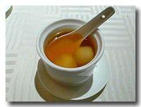 薑茶湯圓 白玉団子入り生姜湯