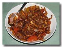 デビルドマッシュルーム 茸と野菜のスパイシー炒め