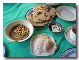 インディアッパーの朝食