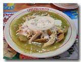 鶏肉のチラキレス 緑ソース