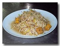 パット・トゥアゴーク・タォフー もやしと豆腐の炒め物