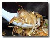 オースワン(タイ風牡蛎の卵とじ) アップ レンゲ