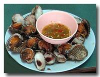 ホーイ・クレーン・ルワック 茹で赤貝