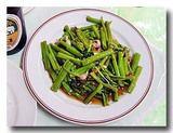 パックブン・ファイデン 空心菜の炒め物2