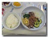 大韓航空機内食 ビジネスクラス ビピンパブ
