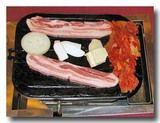 サムギョプサル 豚の三枚肉の焼き肉 焼く前