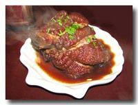 龍蹄 豚の太股の醤油煮込み
