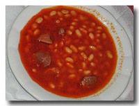 クルファスリエ 白インゲン豆のトマト煮込み