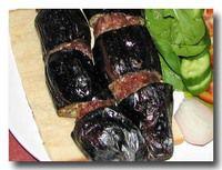 パトゥルジャン・ケバブ 茄子と挽肉のケバブ