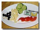 トルコの朝食プレート