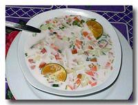 ミティ 魚のココナッツクリームソース