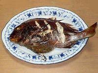鯛の中華風オーブン焼き