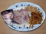 鯛の中華風刺身
