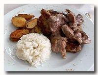 カルネ・デ・セルド 豚肉 フライパン焼き