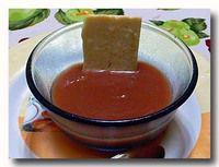 葡萄ジャム と チーズ
