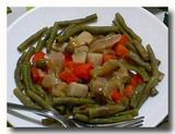 インゲン豆のサラダ haricot