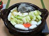 鍋の材料(野菜など)