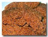 カラス カラス karas-karas 米の揚げクッキー 砕いた断面アップ