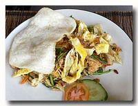 ミーゴレン 錦糸卵入り インドネシア風焼きそば