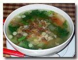 スプ・アヤム・サユール 鶏肉と野菜のスープ