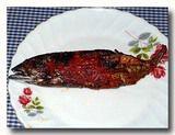 イカン・バカール・サンバル ikan bakar 焼き魚のチリソースがけ