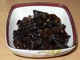黒木クラゲの中華風和え物