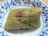 抹茶あんこ粽(抹茶豆沙粽)