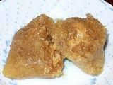 蓮あんのかんすいづけ米粽