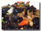 山黒肉炒木耳 キクラゲと豚肉の炒め物