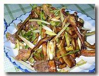 拆骨肉拌茄子 骨なし肉と茄子の和え物
