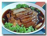 中華風豚の角煮 皿全体の様子