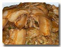 酸菜扣肉粉 漬物、バラ肉、春雨の炒め煮