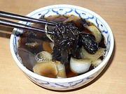 大連海苔入りスープ