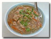 肉[火庚] 肉入りとろみスープ