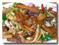 客家小炒 スルメイカと野菜の醤油炒め