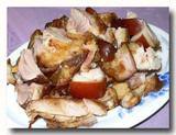 萬巒猪脚 豚足の醤油煮込み アップ
