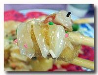 富貴蝦球 エビフライのマヨネーズソースのアップ