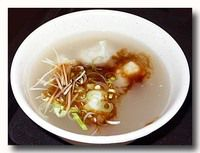虱目魚丸湯 白身魚のつみれいりスープ