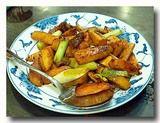 鮮筍醤炒肉 筍と豚肉の炒め物