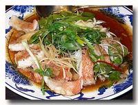 清蒸石斑魚 ハタの蒸し物