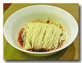 紅油燃麺 ラー油あえ麺 和える前