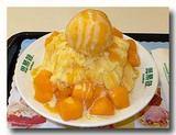 新鮮芒果雪花冰 生マンゴー載せマンゴーかき氷