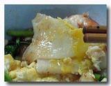クイティオ・ラートナー あんかけ米麺 のアップ