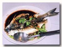 豉汁蒸烏魚 蒸し雷魚の中国ミソソース